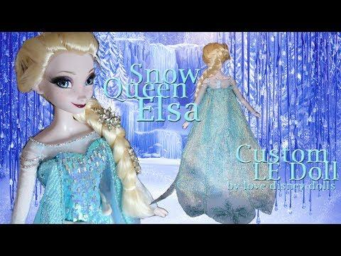 "OOAK 17"" Snow Queen Elsa Doll by love-disney-dolls"