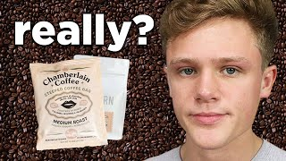 "Reviewing YouTuber ""Coffee Brands"""