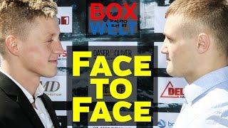 Sebastian Formella vs Denis Krieger - FACE TO FACE - 15.05.2017 -  Hamburg