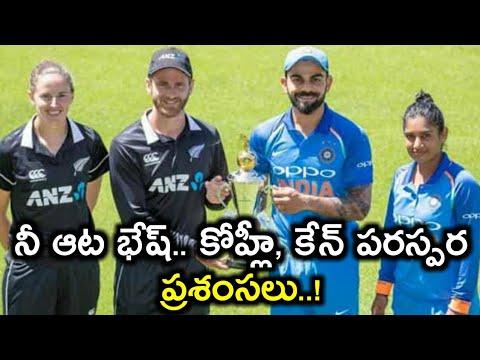 India vs New Zealand: Kohli is a world class batsman | Humble  Kohli lauds Williamson l Kane | Virat