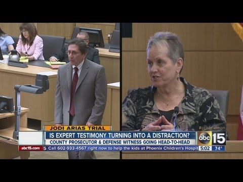 County prosecutor and witness go head-to-head in Jodi Arias trial