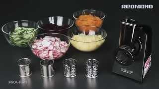 видео Шинковка электрическая для овощей