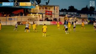 Hampton and Richmond 2 vs 1 Sutton United