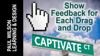 Adobe Captivate 9 - Show Feedback for Each Drag and Drop