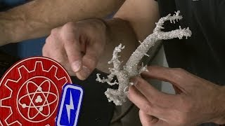 Making Fulgurites with High Voltage