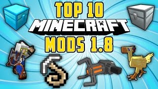 TOP 10 MODS PARA MINECRAFT 1.8 - Los Mejores Mods