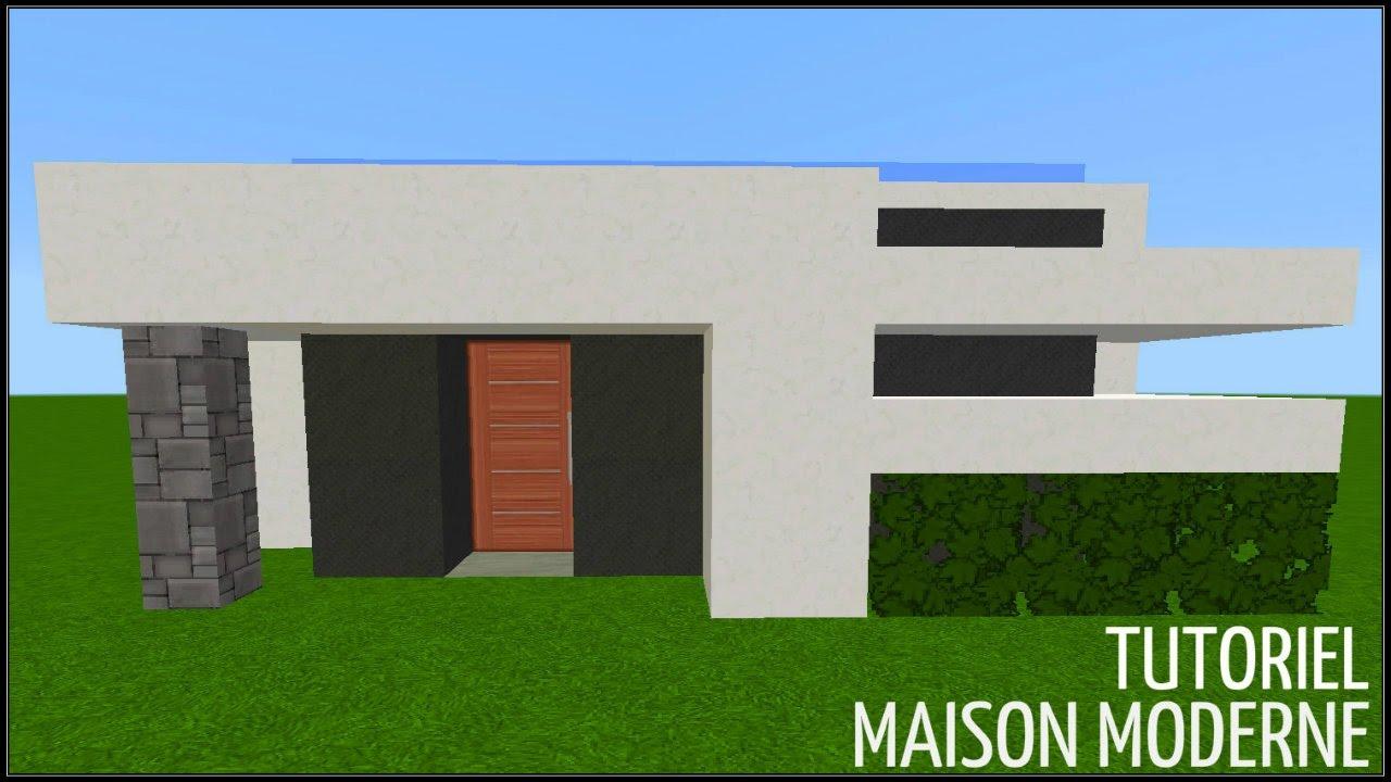 Minecraft tuto - Construction d'une maison moderne - YouTube
