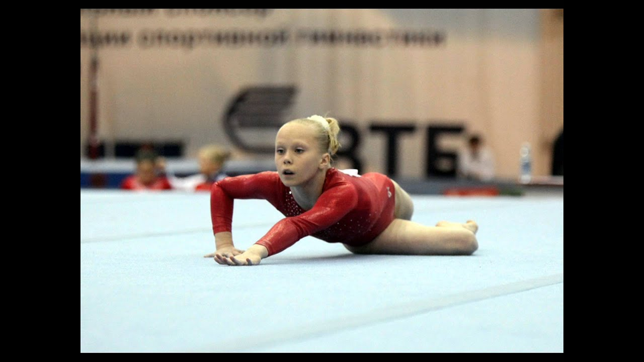 Angelina Melnikova Floor Music 2014 Youtube
