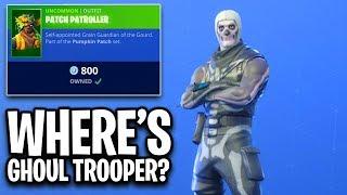 really EPIC? no Ghoul Trooper?? Fortnite ITEM SHOP (October 31) Skull Trooper is Back!!