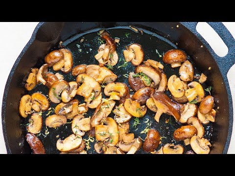 No-Fail Method for How to Cook Mushrooms
