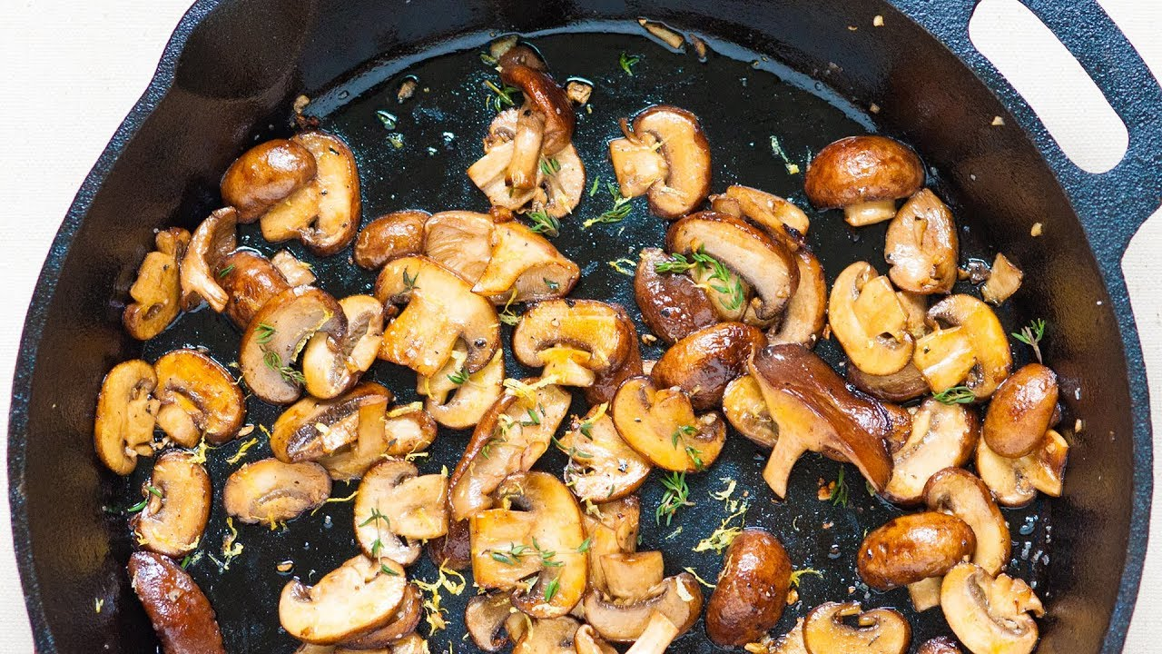 No-Fail Method for How to Cook Mushrooms - YouTube