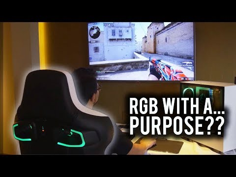 RGB Gaming Chairs could change how we watch eSports forever