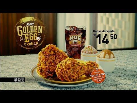 KFC Golden Egg Crunch - Sedap Tak Tertahan