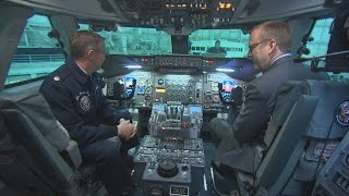 Inside Air Force One: Cockpit