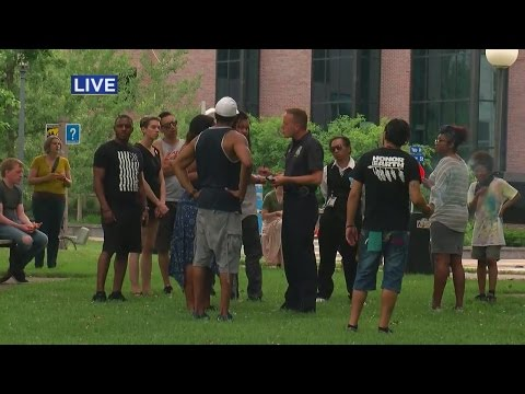 Crowd Gathers In Loring Park For 2nd Day Of Yanez Verdict Protests