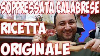 Come fare La Soppressata Calabrese  Ricetta Originale Artigianale Casereccia