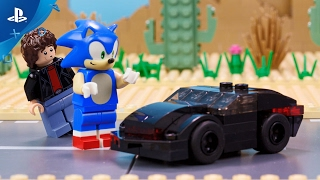 Lego Dimensions    Meet That Hero: Sonic The Hedgehog Meets Knight Rider | Ps4, Ps3