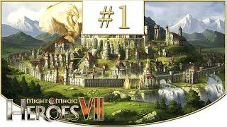 might and Magic Heroes VII Прохождение  Альянс света. Пир богов  #10