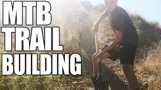 TRAIL BUILDING | Mountain Bike Trail Maintenance