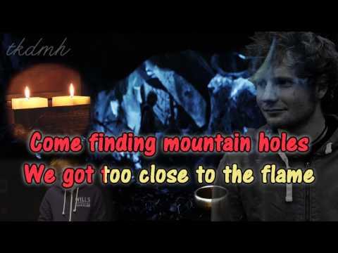 Ed Sheeran - I See Fire Karaoke/Instrumental