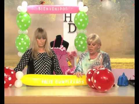 Decoraci n con globos cumplea os vestido de 15 con - Decoracion con globos para cumpleanos ...