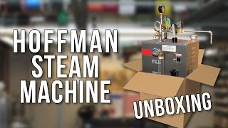 UNBOXING: Hoffman New Yorker 2 Gallon Steam Cleaner Machine