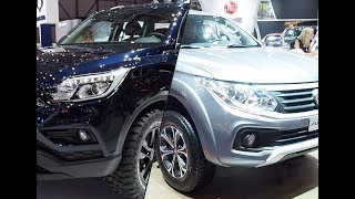 2018 Ssangyong Musso vs. 2018 Fiat Fullback