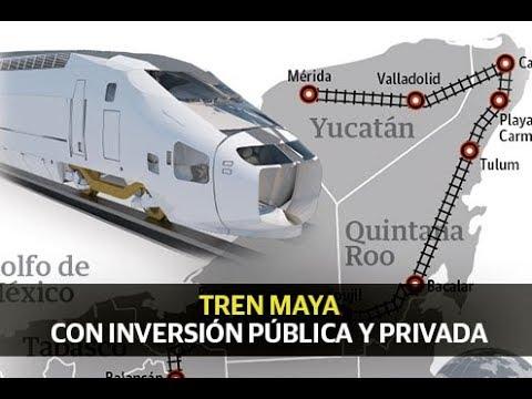 """AMLO anunció ampliación del """"Tren Maya"""""""