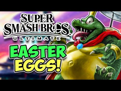 21 Easter Eggs and References in Super Smash Bros Ultimate! thumbnail