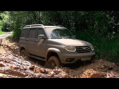 UAZ Patriot 2015 Offroad тест via ATDrive