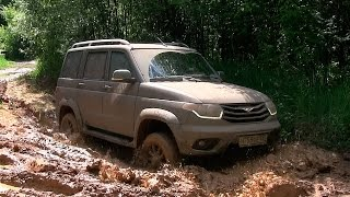 UAZ Patriot 2015 - Offroad-тест via ATDrive