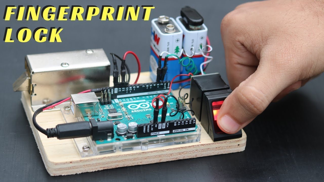 How to Make Fingerprint Door Lock at Home
