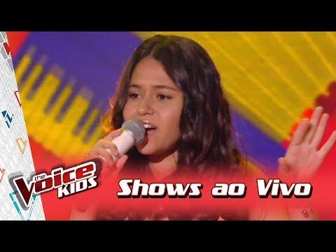 Eduarda Brasil canta 'Baião' nos Shows Ao Vivo – 'The Voice Kids Brasil' | 3ª Temporada