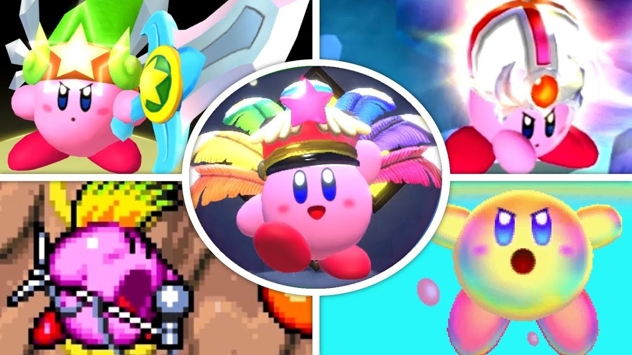 Evolution of Super Copy Abilities in Kirby Games (1993 - 2018) - YouTube