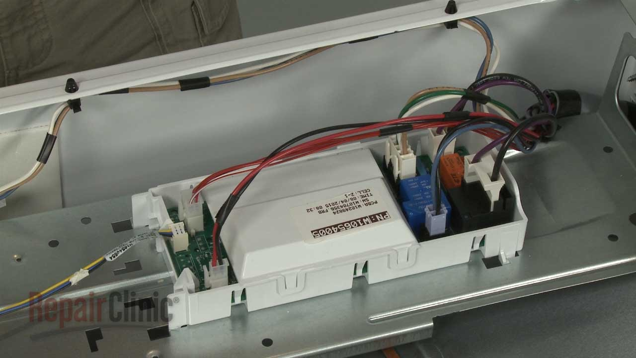Whirlpool Electric Dryer Main Control Board #WPW10654005  YouTube