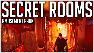How to Access ALL 3 SECRET ROOMS in the Amusement Park on Coney Island! - The Division 2 Tips
