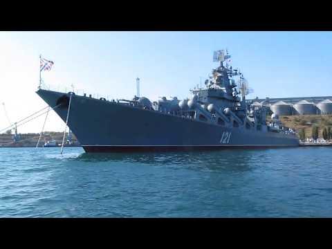 14 - Морская прогулка по Севастопольской и Южной бухтам (Часть 1: Севастопольская бухта)