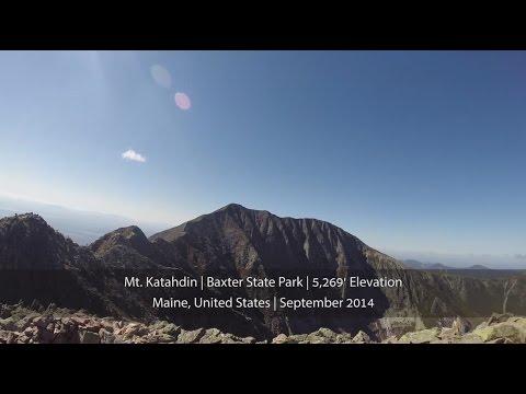 Mt. Katahdin - Fall 2014 - Baxter State Park