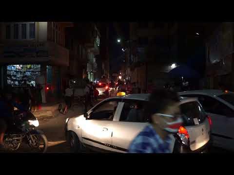 Nepál 2017 - Život Nočního Kathmandu