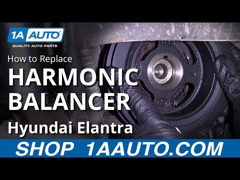 How to Replace Harmonic Balancer 07-10 Hyundai Elantra