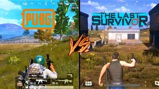 PUBG Mobile VS The Last Survivor COMPARACIONES con AcciónAndroid