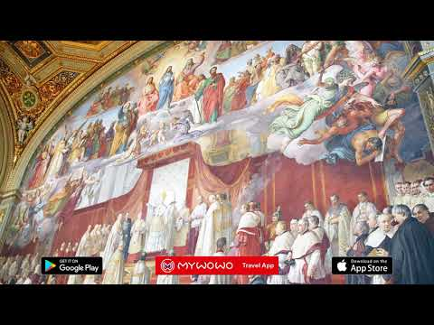 Vatican Museums – Art Gallery – Raphael And Caravaggio – Rome – Audio Guide – MyWoWo  Travel App