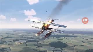 Gli incidenti in un gioco in aereo