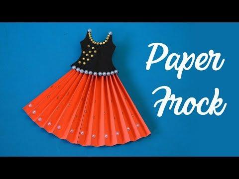 PAPER DOLLS WEDDING DRESS PAPERCRAFT HANDMADE DOLLS BRIDE FROCK  | Paper Crafts