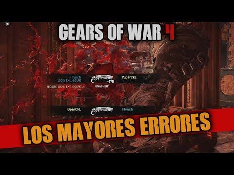 LOS NUEVOS ERRORES EN GEARS OF WAR 4