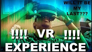 MY FIRST TIME TRYING VR !!! *MUST WATCH*