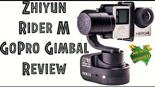 Zhiyun Rider M GoPro Gimbal Tutorial & Review