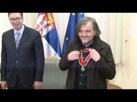 PRIJEM U VLADI SRBIJE: Kusturica dobio orden, a evo šta je Vučić poklonio Moniki Beluči