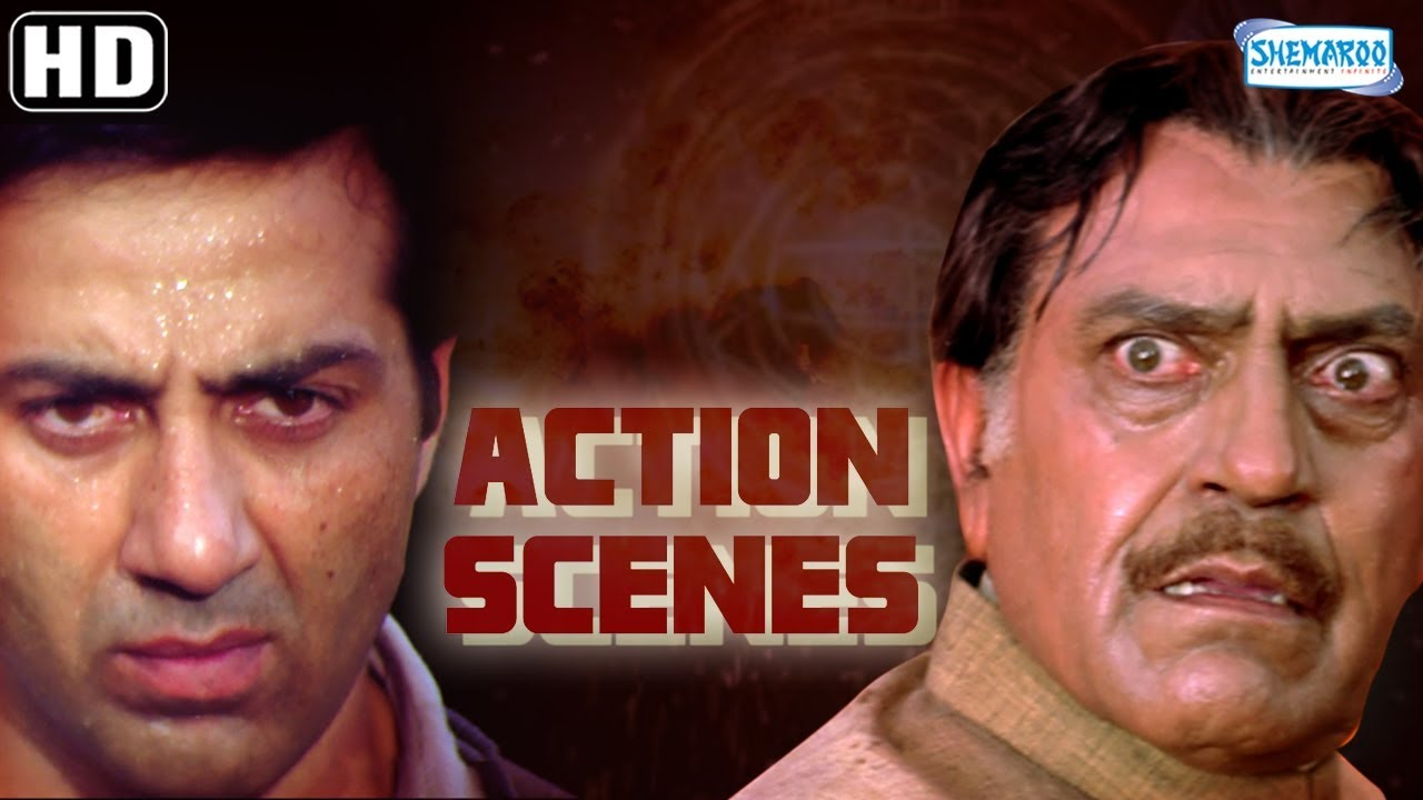 Download Action Scenes from Salaakhen (1998)(HD) Sunny Deol - Amrisah Puri - Anupam Kher - Hit Hindi Movie