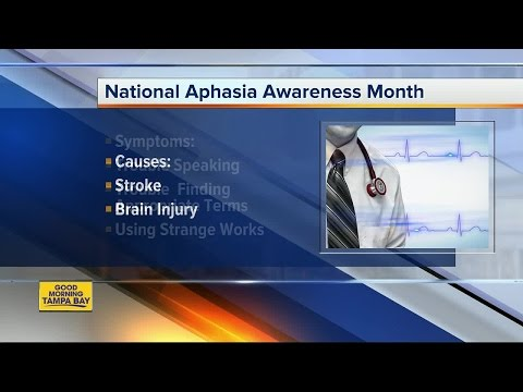 South Florida Baptist Hospital Helps Spotlight National Aphasia Awareness Month